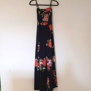 Size 8 Jumpsuit floral summer